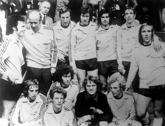 La squadra tedesca campione d'Europa nel '72 - newstalk.com