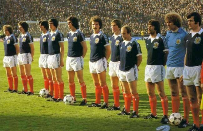La nazionale scozzese - worldcupteams.republika.pl