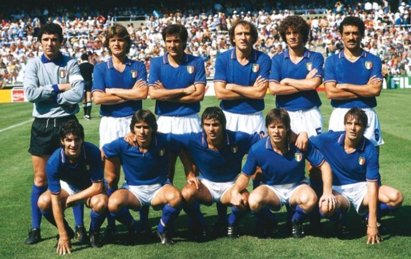 L'Italia del Mondiale '82 - copadomundodobrasil2014.com
