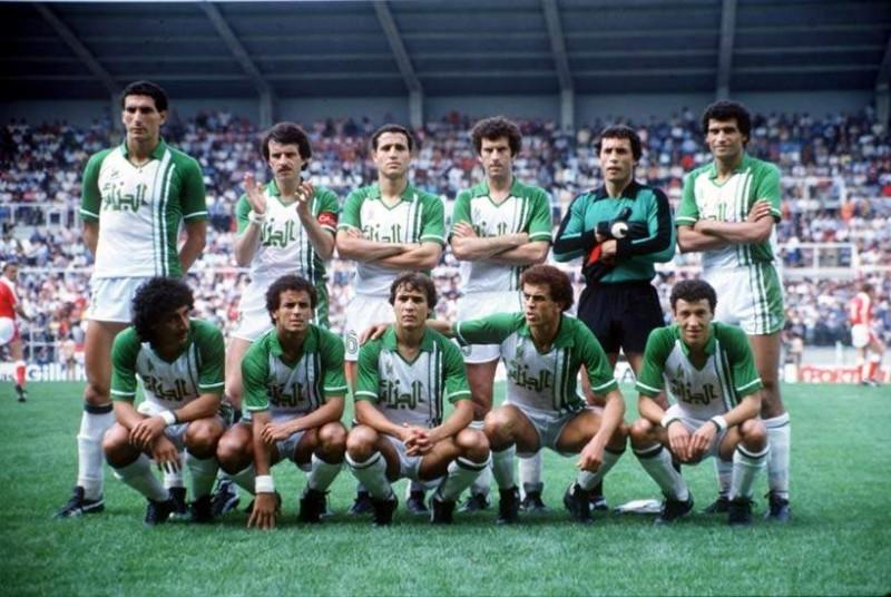 La nazionale algerina ai Mondiali - retrofootball.it