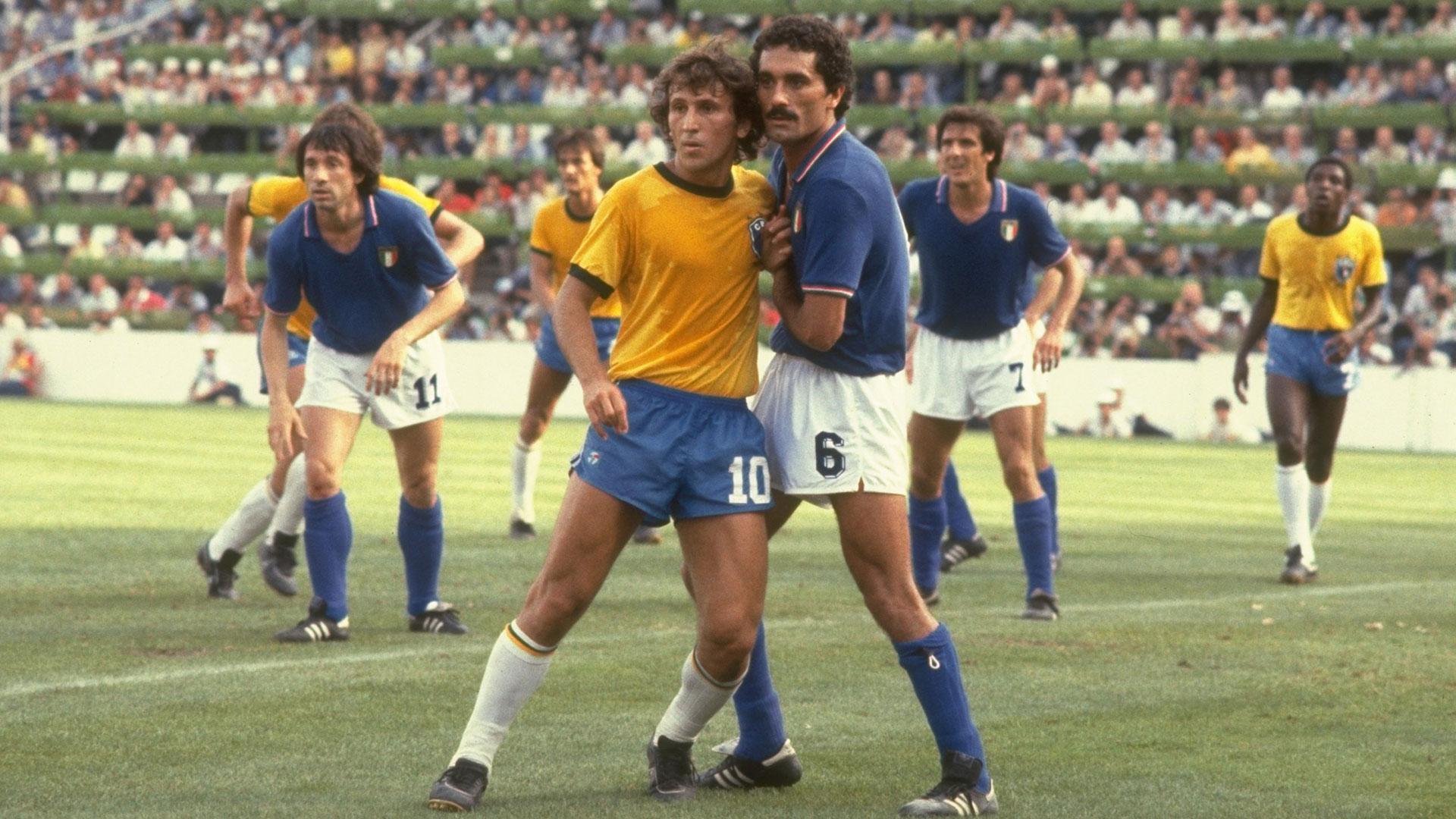 Italia-Brasile, Zico e Gentile - goal.com
