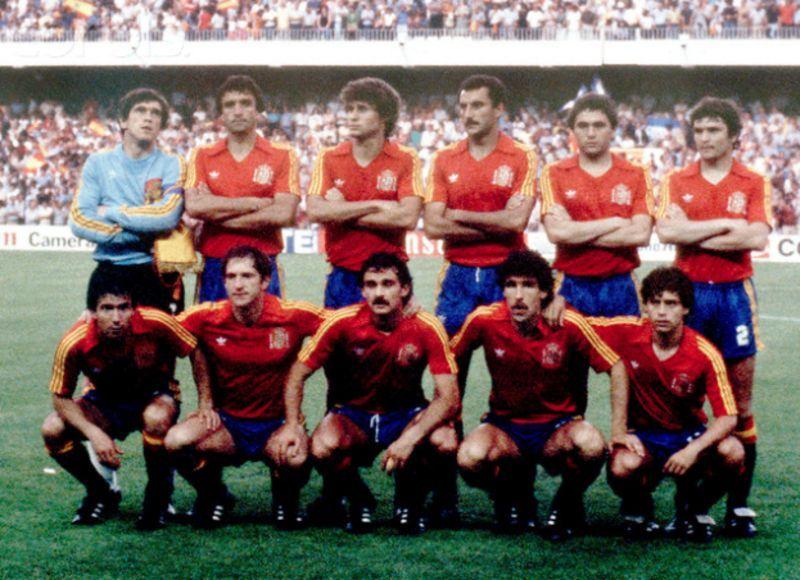 La nazionale spagnola - picclick.it