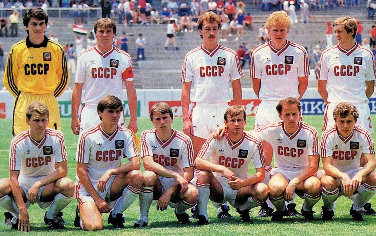 La nazionale sovietica a Messico '86 - mondiali.it