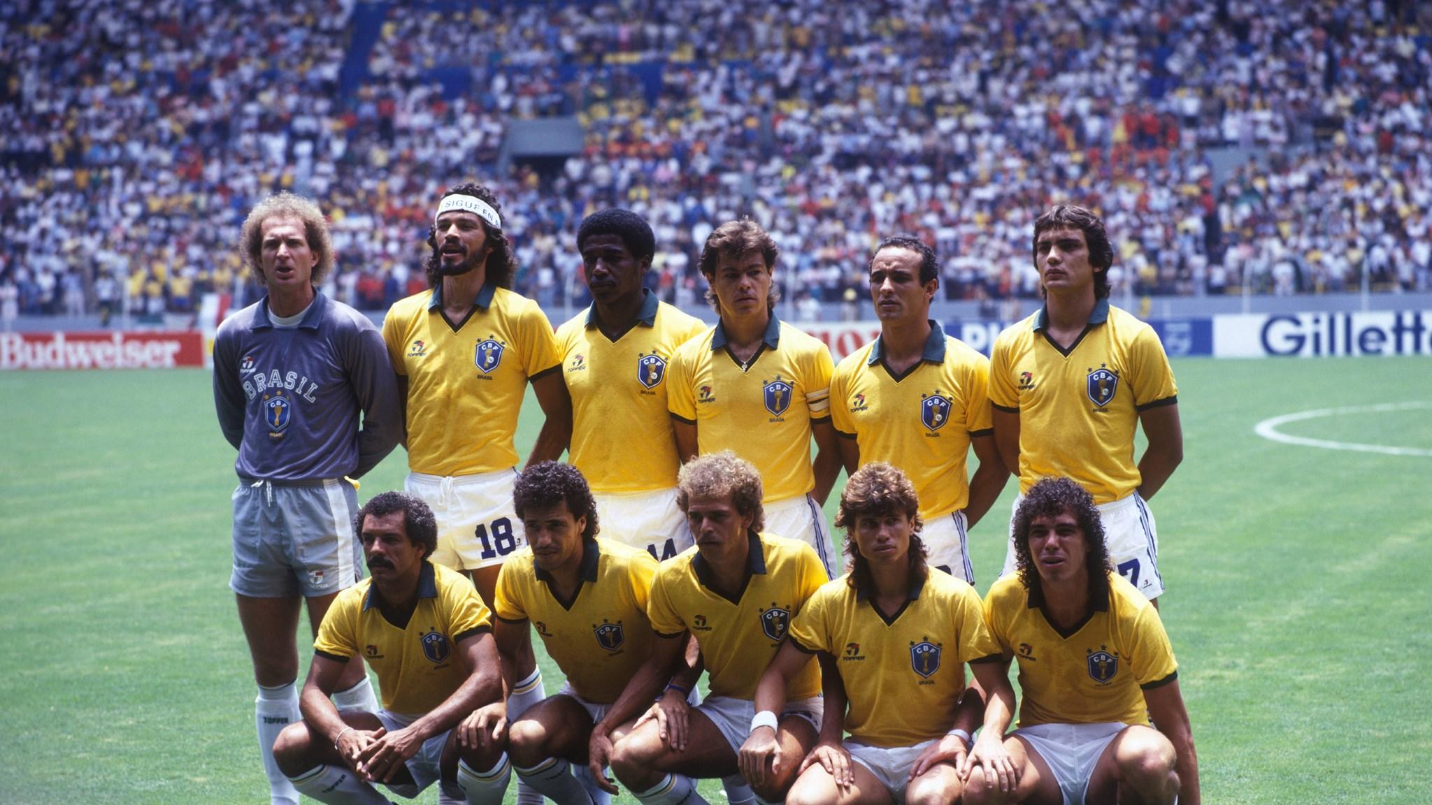 Il Brasile all'esordio mondiale - fifamuseum.com